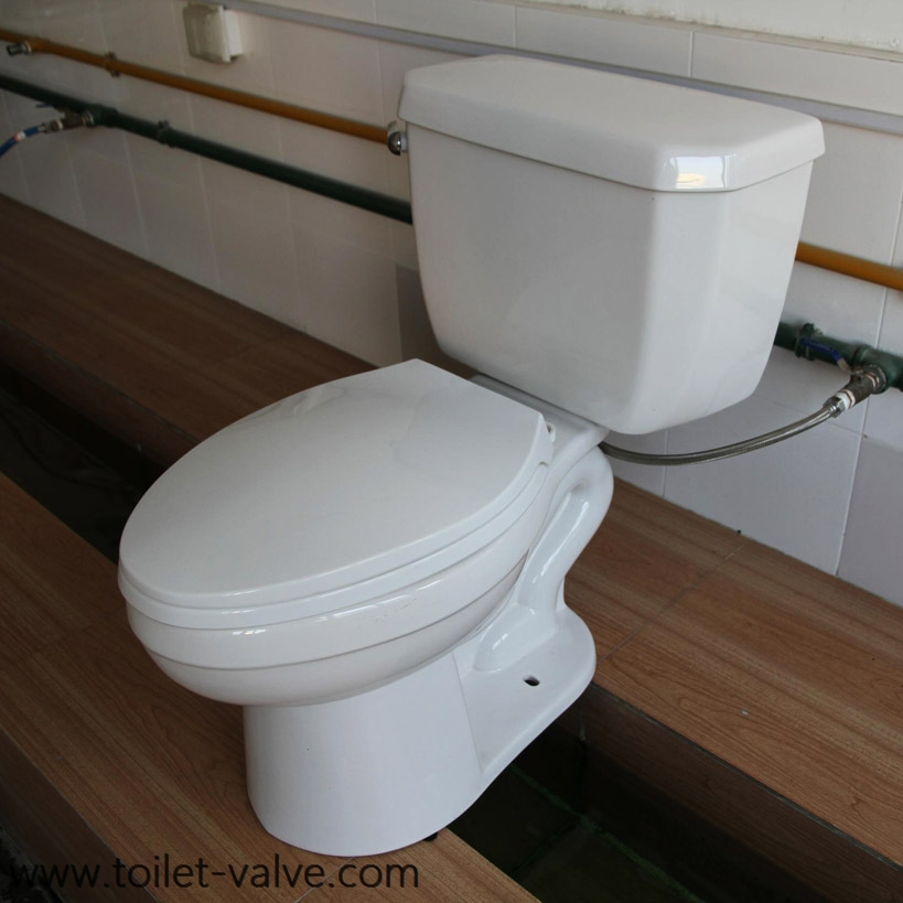 Pressure Assisted (PA) Water Closet equipped with FLUSHMATE