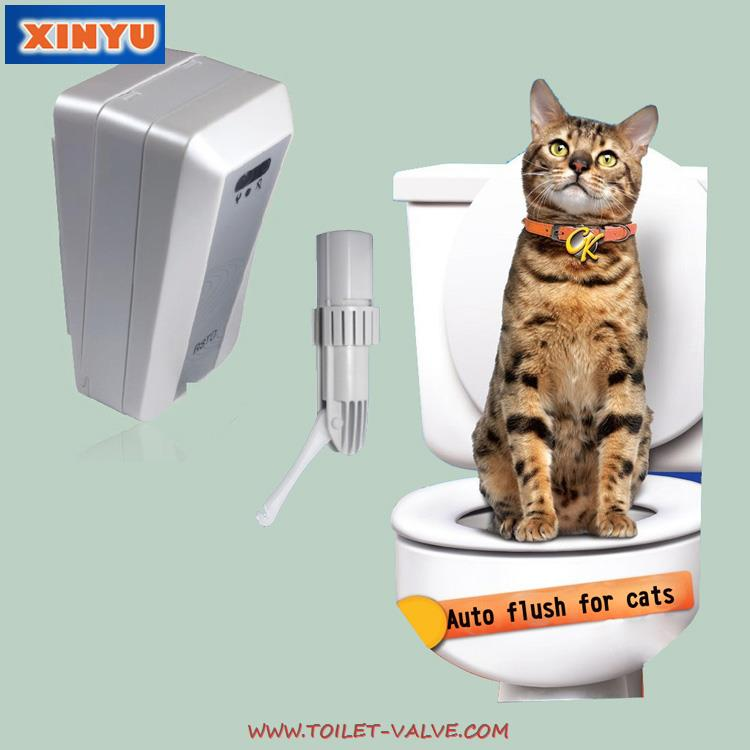 Automatic Toilet Flusher For Cats QBA-I