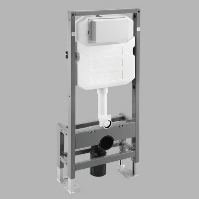 K130-A06 Concealed cistern(with k8119 frame),height 1140mm,self-standing For front actuation and for Wall-hung toilet